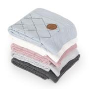 Pletená deka v dárkovém balíčku 90 x 90 cm Rýžový vzor Ceba
