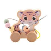 The Wildies Family dřevěná hračka s labyrintem Tiger 12 m+
