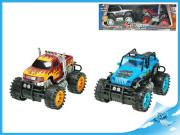 Terenní auta monster a buggy 25 cm na setrvačník