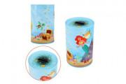 Pokladnička Mermaids/Mořské panny plechová 10x15 cm
