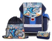 Školní batohový set ERGO TWO Roboman 3-dílný