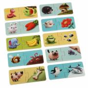 Naučné puzzle 20 dílků Puzzlika - Mé jídlo