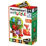 HEADU: Montessori Moje první puzzle - Les