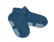 Kojenecké ponožky protiskluzové - Grafitové Risocks