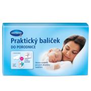 Praktický balíček do porodnice - vložky porodnické Samu 2x+prsní vložky+Molipants M