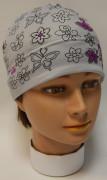 Dívčí funkční čepice Motýlci Šedá RDX