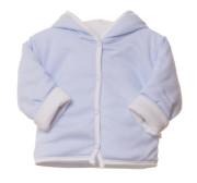 Kabátek Thermo oboustranný s kapucí MKCool Světle modrý
