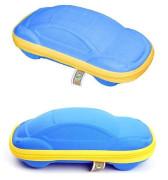 Baby Banz - pouzdro na sluneční brýle modré autíčko