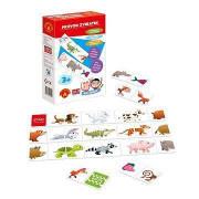 Hra školou Průvod zvířátek kreativní a naučná hra