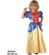 Kostým na karneval - Sněhurka, 92 - 104 cm