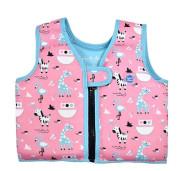 Plovací vesta Go Splash zvířátka růžová