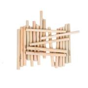 Bambusová brčka krátká - 20 ks Bamboolik