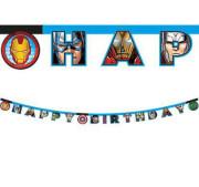 Baner - Avengers Happy Birthday
