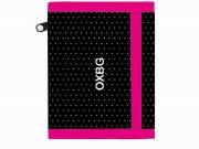 Dětská textilní peněženka OXY Dots white