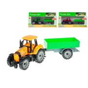 Traktor s vlečkou na volný chod 19 cm