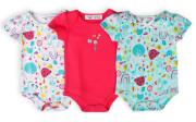 Body kojenecké 3pack, Minoti, Ladybug