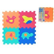 Pěnové puzzle Zvířata 30x30cm 10ks