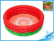 Bazén nafukovací 160x38 cm jahoda 3 komory
