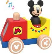 Disney Dřevěný vláček s Mickeym
