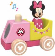 Disney Dřevěný vláček s Minnie