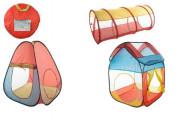 Set stany 2ks + tunel samorozkládací v tašce 50x50x3cm