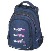 Studentský batoh FAME Arrow Blue