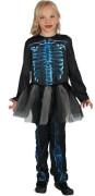 Šaty na karneval - kostra, 130-140 cm