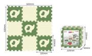 Pěnové puzzle 32 x 32 cm