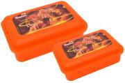 Sada svačinových boxů Hurvínek muzeum oranžová