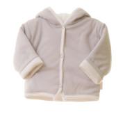 Kabátek Thermo oboustranný s kapucí MKCool Světle šedý