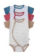 Bavlněné body krátký rukáv Puntíky Baby Service