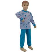 Bavlněné pyžamo planety na modré Esito Vel. 80 - 122
