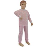 Dívčí bavlněné pyžamo růžový obláček Esito