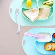 Jednodílná silikonová jídelní podložka EcoViking