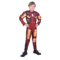 Kasrnevalový kostým - Superhrdina, Vel. 130 - 140 cm