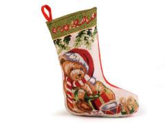 Mikulášská / vánoční punčocha 25x39 cm