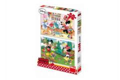 Puzzle Pracovitá Minnie 2x66 dílků