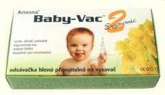 Odsávačka nosních hlenů na vysavač Arianna Baby-Vac 2 Ergonomic + kartáček