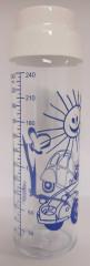 Kojenecká láhev skleněná se silikonovou savičkou 240 ml Simax