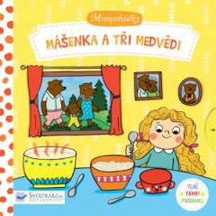 Leporelo Minipohádky –  Mášenka a tři medvědi