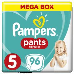 Kalhotky plenkové ActivePants 5 JUNIOR 12-17kg 96ks Pampers