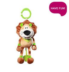 Závěsná plyšová hračka s melodií - Alex the Lion
