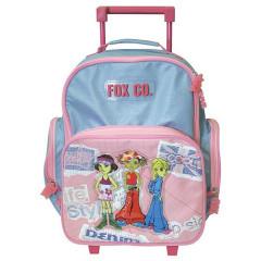Školní batoh trolley Cool - Fox Co. - tři holky
