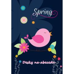 Desky na abecedu Premium Spring