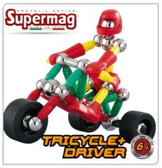 Supermag tříkolka a řidič 63d
