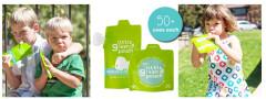 Zelená kapsička na jídlo 1 ks