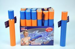 Vodní dělo pěnové 33 cm - oranžovo-modrá