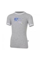 Tričko tenké KR obrázek Outlast® Šedý melír