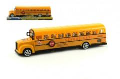Autobus školní 30cm na setrvačník