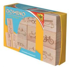 Domino dřevěné vozidla 12m+